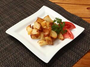 Картофель жареный из отварного