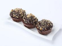 Кекс шоколадный с ванильным кремом (маффин), 55г