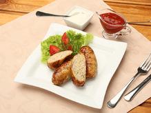 Кырнэцеи с мясом птицы и картофелем
