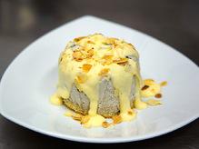 Десерт Парфе с черносливом