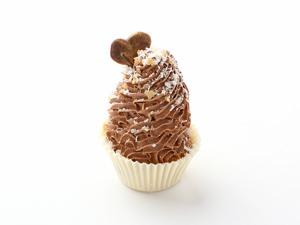 Пирожное Шоколадная корзиночка с муссом, 23 г