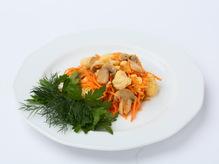 Салат из моркови по-корейски и цветной капусты, весовое