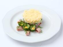 Салат-коктейль ветчина с сыром, весовое