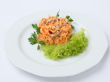 Салат из моркови по-корейски с говядиной, весовое