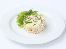 Салат столичный, весовое