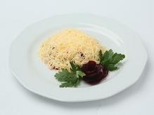 Салат из отварной свеклы с сыром и сметаной, весовое