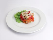 Салат из запеченных овощей, весовое