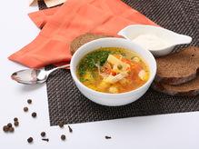 Суп овощной с курицей, 300/30 г