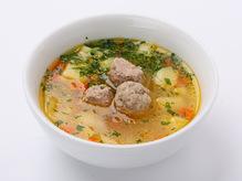 Суп с фрикадельками, 300/20 г