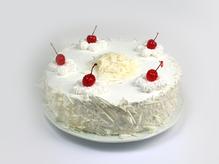 Торт Шахматный с клубничным кремом, весовое