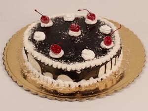 Торт Вишенка (постный)